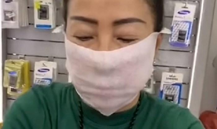 Pogledajte kako napraviti zaštitnu masku za lice od vlažne maramice