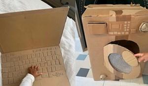 Ova mama svojoj djeci izrađuje igračke od kartona i to izgleda genijalno