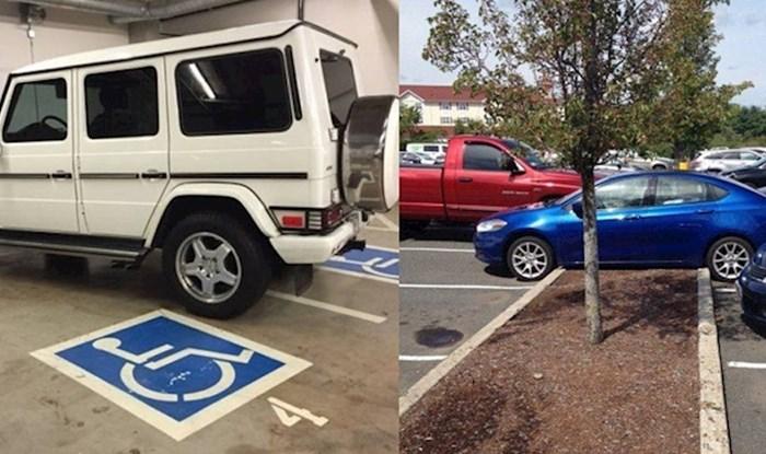 Ovim ljudima treba oduzeti vozačku dozvolu, pogledajte kako su parkirali aute