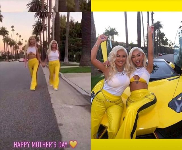 Suzila je mamin struk na slici koju je objavila povodom Majčinog dana