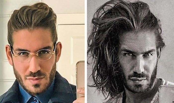 Ovi muškarci odlučili su pustiti kosu i sada izgledaju odlično