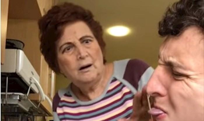 Ovaj lik obožava zezati svoju baku tako što se pretvara da je ozlijeđen, njene reakcije su urnebesne