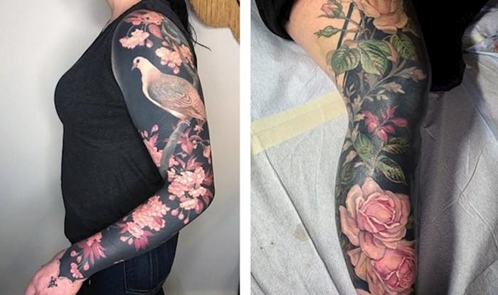 Umjetnica svoje klijente prekriva neobičnim crnim tetovažama koje izgledaju poput odjeće