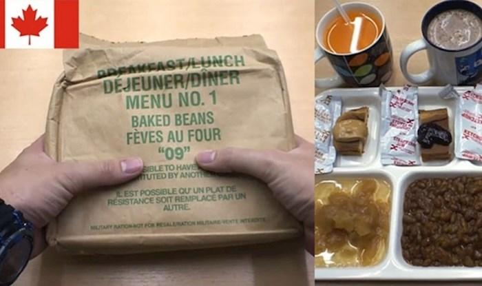 Netko je objavio kako izgledaju obroci vojnika diljem svijeta, našla se i Hrvatska