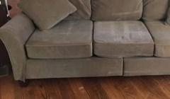 U oglasu piše da na kauču nisu boravili ljubimci, ali jedan presmiješan detalj ih je odao
