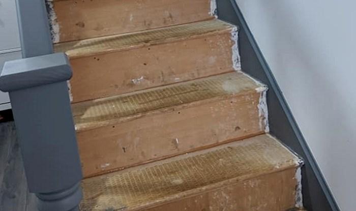 Uređivali su kuću i na stepenicama ostavili genijalnu poruku budućim stanarima