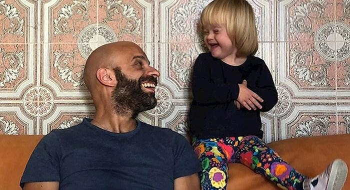 Muškarac je posvojio djevojčicu s Down sindromom koju je odbilo 20 obitelji