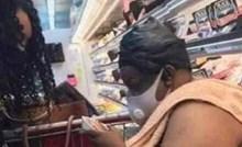 Ova žena je zgrozila ostale kupce u dućanu, svi su sigurno izgubili apetit