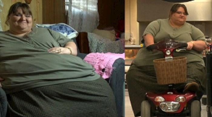 Imala je preko 300 kg, a onda se odlučila za drastičnu promjenu. Pogledajte je danas