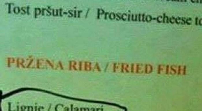 Prijevod ovog jelovnika zgrozio je i nasmijao goste, kako im se to dogodilo?