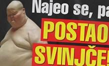 Ovo je bizaran naslov novina u Srbiji