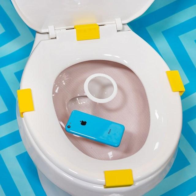 Zaštitna mrežica na wc školjci