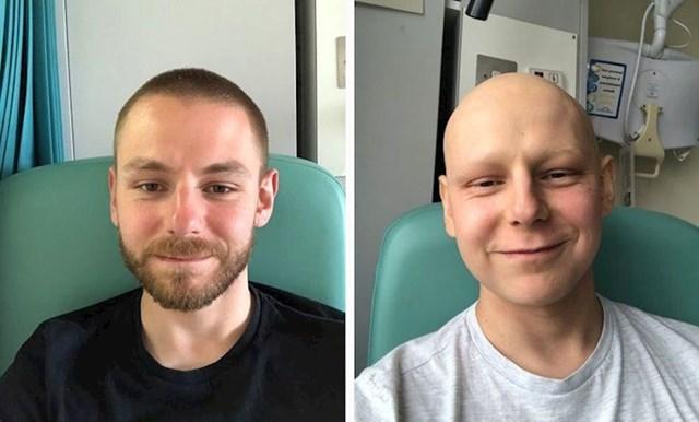 3 mjeseca kemoterapije, ali osmijeh s lica nje sišao :)
