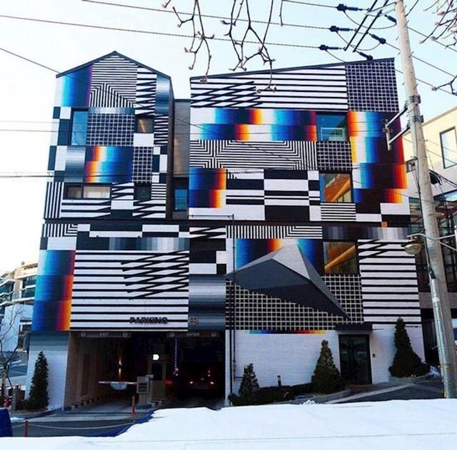 Zanimljiva fasada