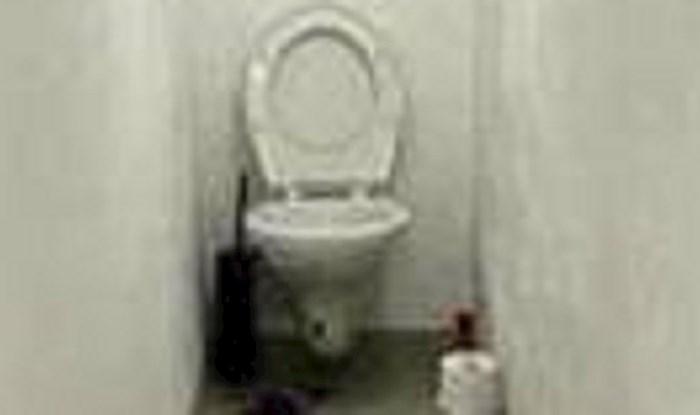 Je li ovo najčudniji wc na svijetu? Pogledajte što je ugledao lik koji ga je slikao