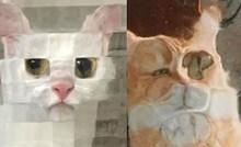 Ljudi na internetu dijele urnebesne slike svojih mačaka iza staklenih vrata