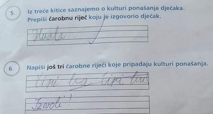 Učenik oduševio učiteljicu odgovorom na jedno pitanje, ovo je preslatko