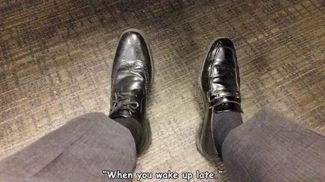 Kad se kasno probudiš