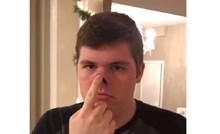 VIDEO Mladić ima neobično fleksibilan nos, ovako nešto niste vidjeli