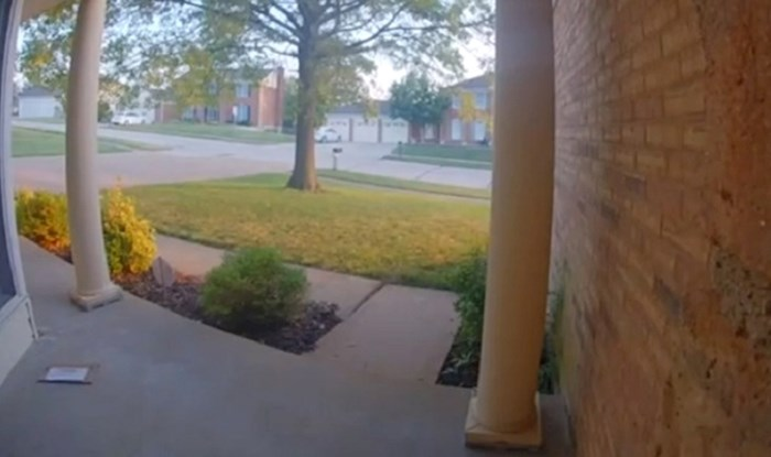 Pošta im je bila na čudnom mjestu, snimka kamere potpuno ih je šokirala
