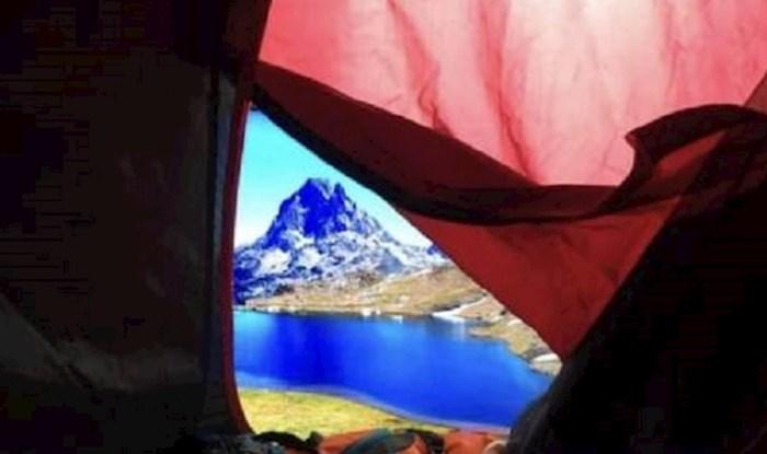 Poželio je doživjeti avanturu i spavati u šatoru, pa je učinio nešto totalno smiješno, ali genijalno