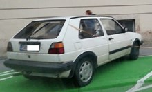 DOBRI STARI GOLF - auto daruvarskih registracija iznenadio je prolaznike, pogledajte zbog čega