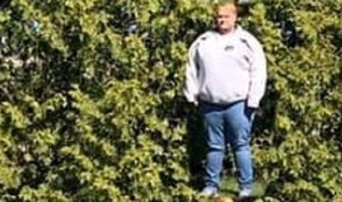 Lika je zanimalo koliko je visoko drveće u njegovom dvorištu, pa je učinio nešto presmiješno
