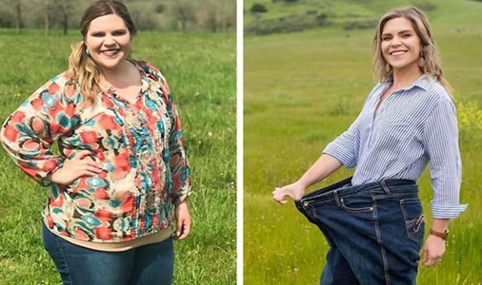 Žena je izgubila 60 kilograma jer je promijenila ovih 5 navika
