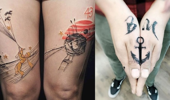 Ove tetovaže oduševit će sve one koji vole kreativnost i originalnost