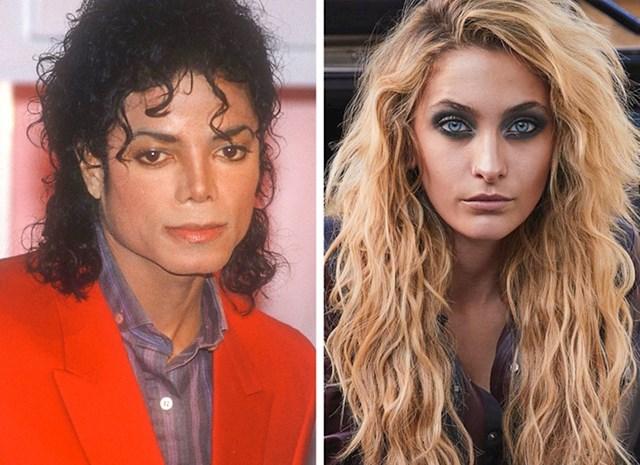Michael Jackson i Paris Jackson