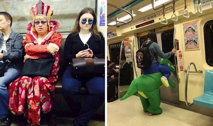 Ovih 17 čudaka koje su ljudi uslikali, dokaz su koliko je zabavno putovati javnim prijevozom