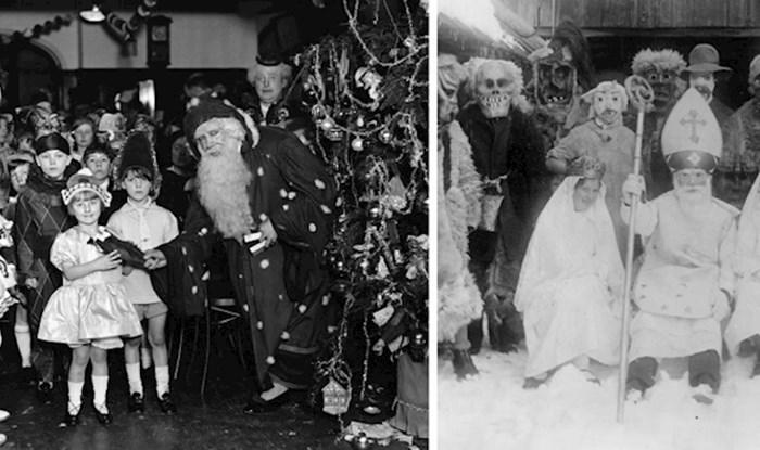 15 jezivih božićnih fotografija iz prošlosti koje dokazuju da su božićni običaji nekad bili totalno čudni