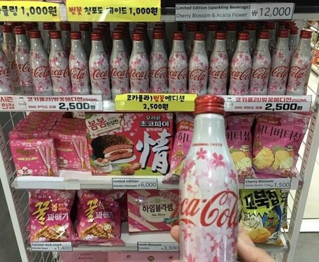 Coca Cola malo drugačijeg dizajna