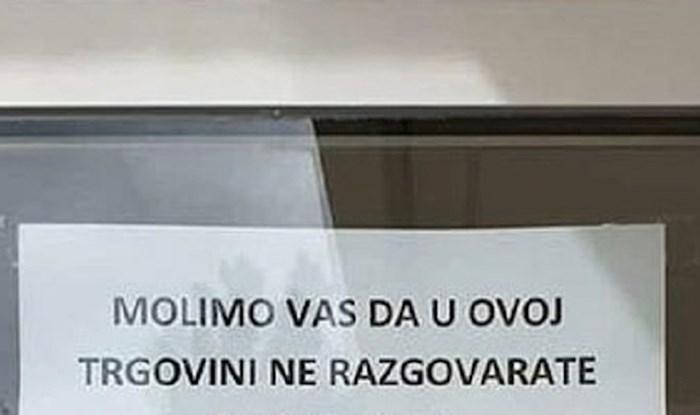 U Dubrovniku je osvanuo zanimljiv natpis, evo o čemu trgovci više nisu htjeli slušati