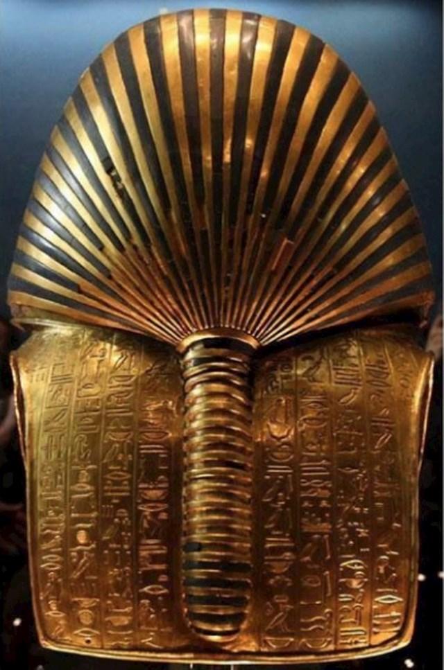 Stražnja strana Tutankamonove maske