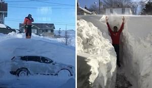 Slike snijega u Kanadi ostavit će vas u nevjerici