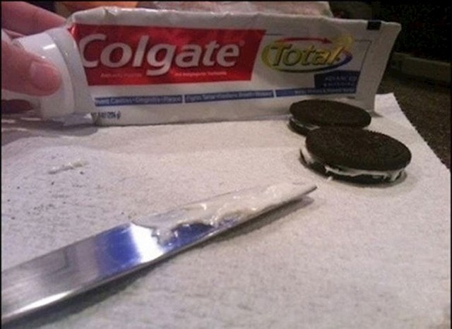 Oreo keksi s okusom zubne paste