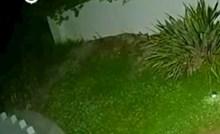 Primijetili su da je netko u noći posjetio teren za golf, kamera je sve snimila