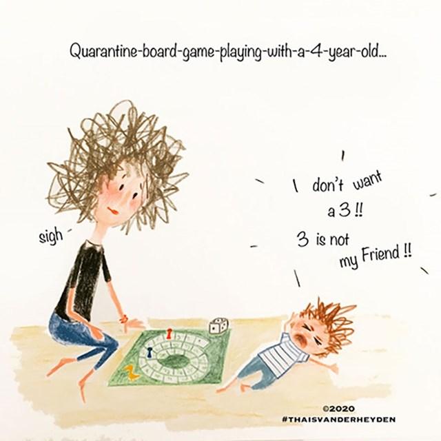 Društvene igre s trogodišnjakom:
