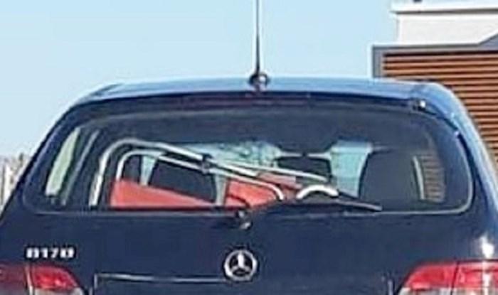 Dalmatince nasmijala registracija na ovom autu, vlasnik se očito dobro uklopio