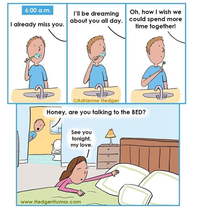 Ujutro se teško oprostiti od kreveta...
