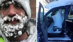 Nakon ovih fotografija više vam neće biti hladno, pogledajte kakve probleme ovim ljudima zadaje snijeg