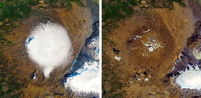 Na Islandu se otopio ledenjak star 700 godina. Lokalno stanovništvo je čak organiziralo i sprovod