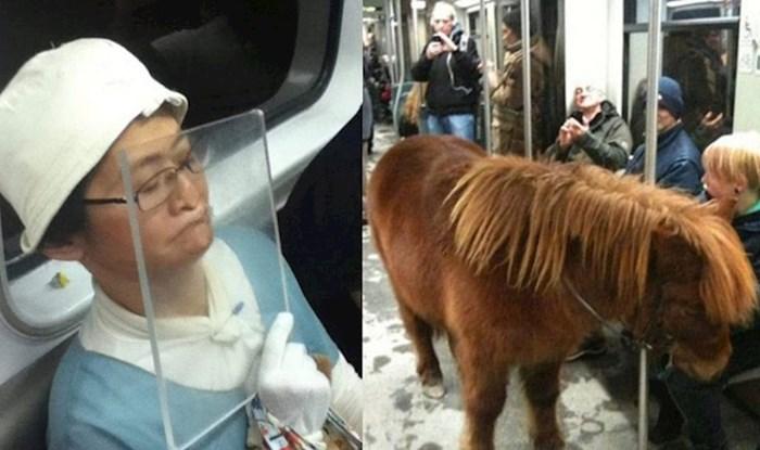 Ljudi su uslikali najveće čudake iz javnog prijevoza koji su začudili sve putnike