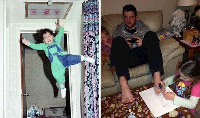11 slika koje dokazuju da su tate i djeca urnebesan duo
