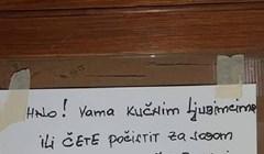 Netko je ostavio upozorenje vlasnicima kućnih ljubimaca iz susjedstva, prilično je bizarno