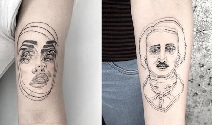 Zbog tetovaža ovog talentiranog tattoo umjetnika zavrtjet će vam se u glavi