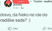 Netko je na Facebooku tražio prijevoz, jedan komentar nasmijao je sve članove grupe