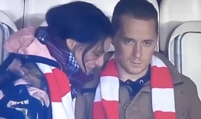 VIDEO Lik je poveo curu na utakmicu, ali je ubrzo shvatio da je gadno pogriješio