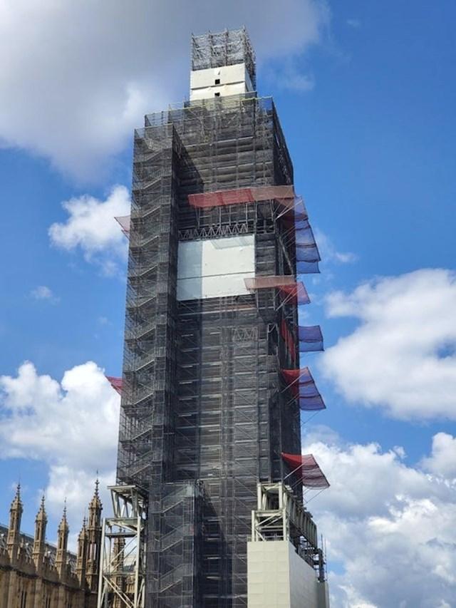 Ono kad odeš u London vidjeti Big Ben:
